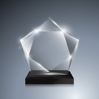 acrylic - award